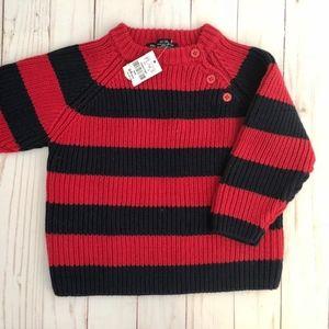 Children's Place Baby Boy Knit Sweater, 6/9 months
